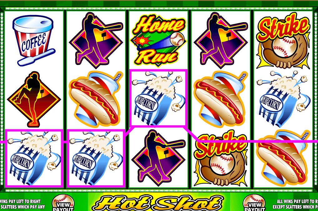Hot Shot adalah gim slot daring klasik bertema Baseball.