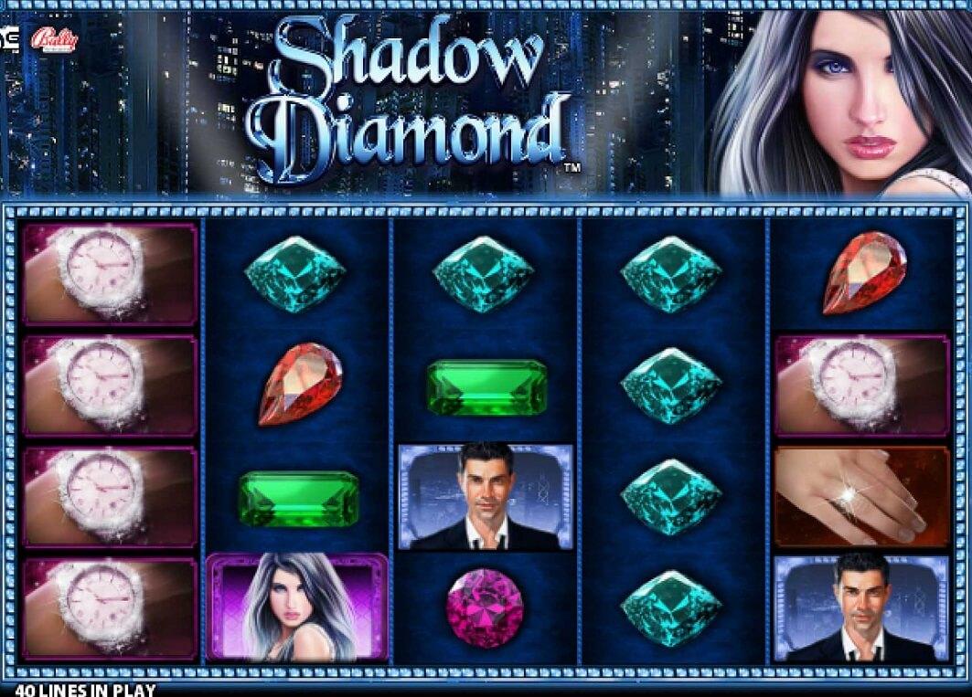 Shadow Diamond Online Slot-7 bebas berputar dan simbol bertumpuk